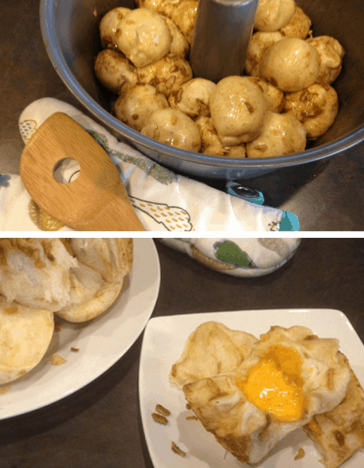 Cheesy Onion Pull-Apart Rolls