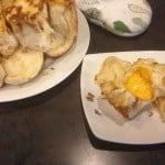 Onion cheese pullapart rolls