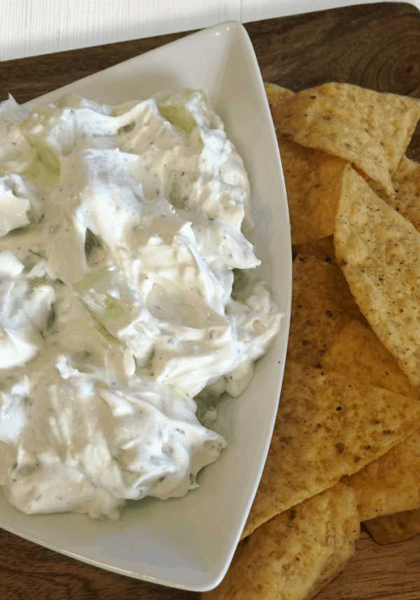 Creamy Cucumber Dip Post