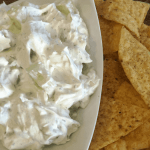 Creamy Cucumber Dip Recipe Feature