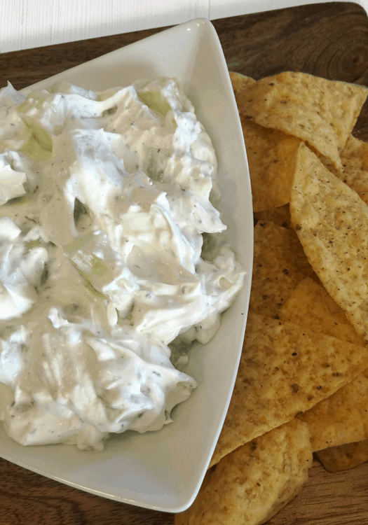 Oh So Simple Creamy Cucumber Dip