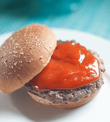 bbq hamburger