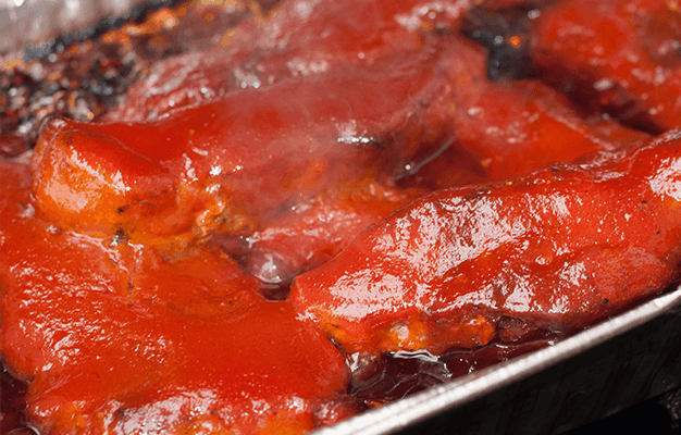 2 Ingredient Sweet & Tangy Barbecue Sauce