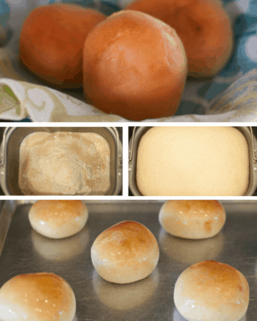 Bread Machine Buns Pin