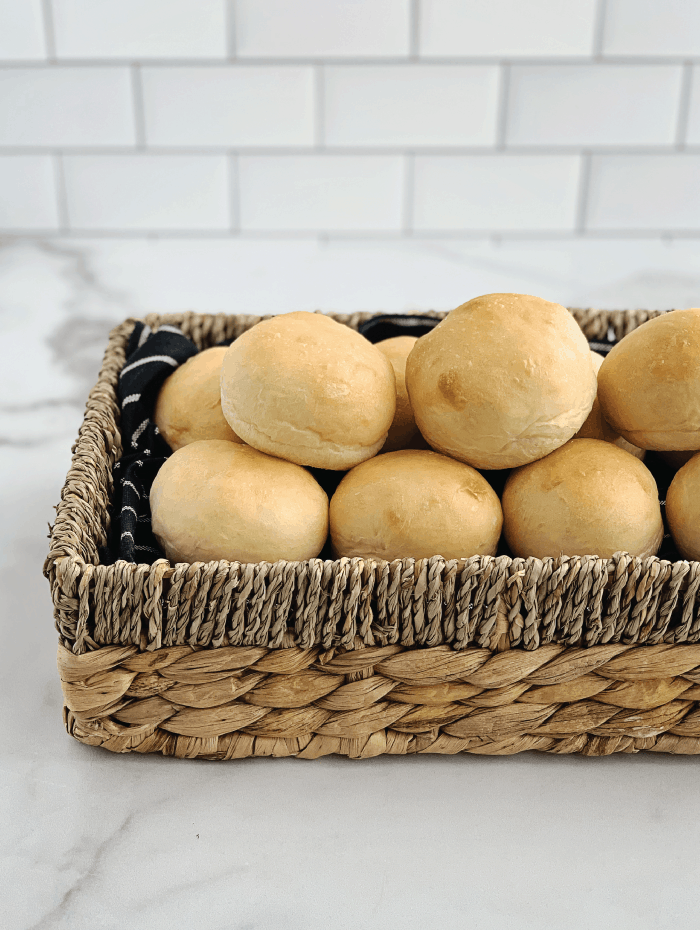 Bread-Machine-Buns-in-Basket