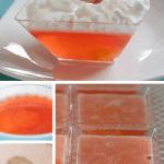 Sparkling Peaches and Cream Dessert