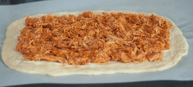 feature images - dough with chicken