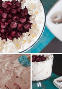 Raspberry Cheesecake Dessert Salad Pin