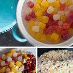 Harvest Spice Popcorn Cake Recipe Pin