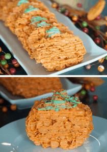 Pumpkin Cornflake Treats