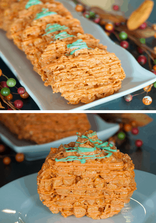 Pumpkin Cornflake Treats