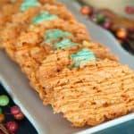 Pumpkin Corn Flake Treats