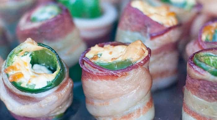 Bacon-Wrapped Jalapeño Poppers