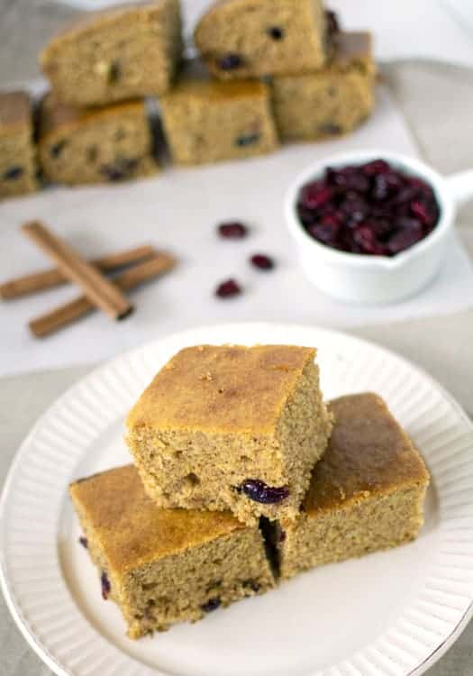 Cranberry Cinnamon Corn Bread Recipe