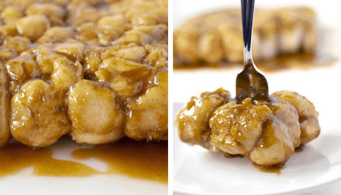 Caramel Pull-Aparts Recipe Served