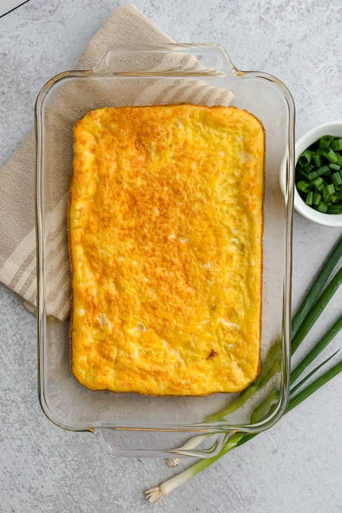 Ham-and-Cheese-Omelet-Bake-Pan