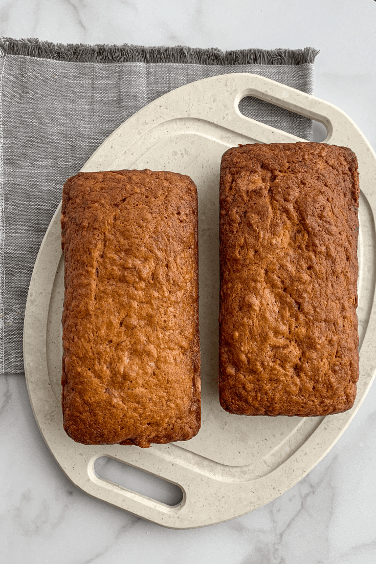 The Best Banana Bread Two Loaves