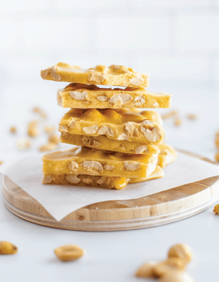 Homemade Peanut Brittle