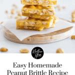 Easy Homemade Peanut Brittle Recipe