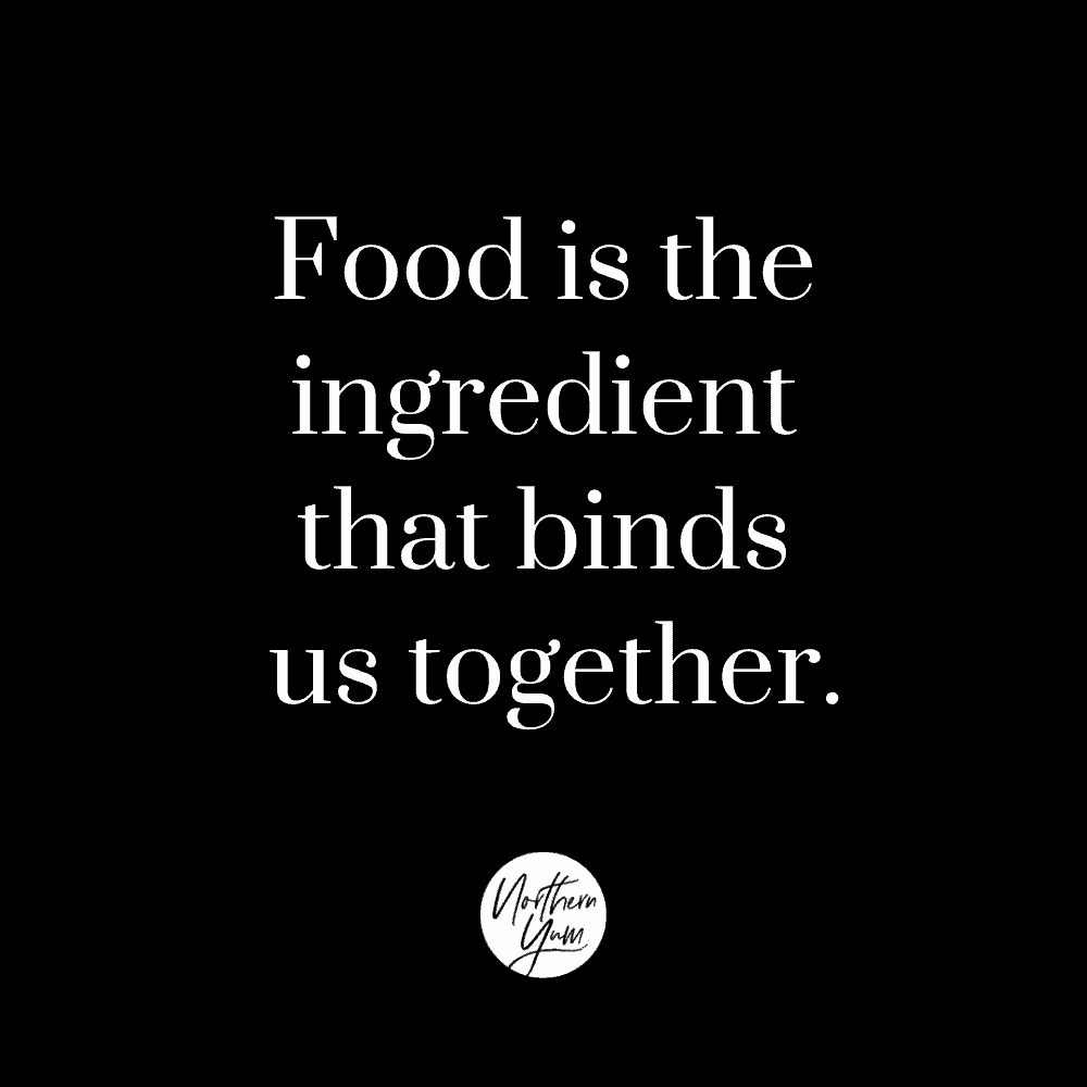 Food in the Ingredient That Binds Us Together IG