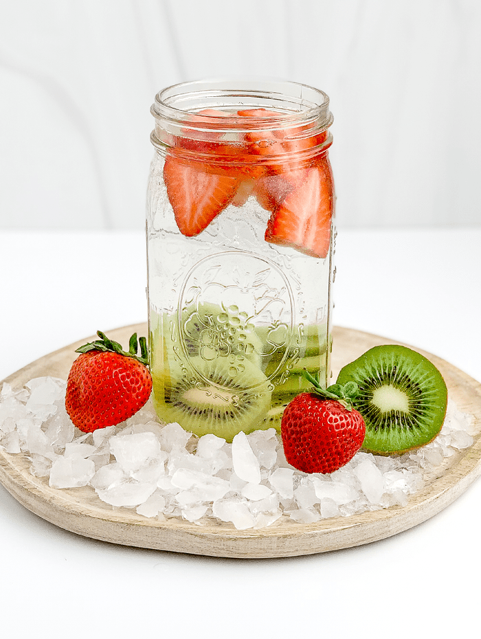 Homemade Fruit Infused Water